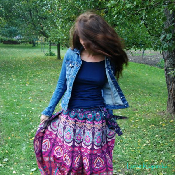 Mandalová sukně