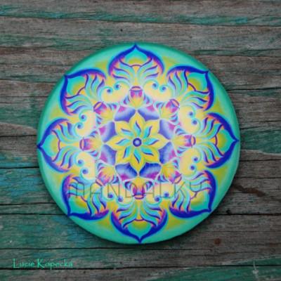 Mandala Duše vody - kulatá