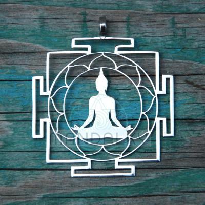 Přívěsek Budha jantra