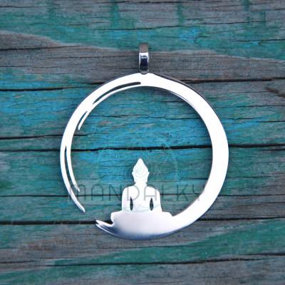 Přívěsek Budha v kroužku