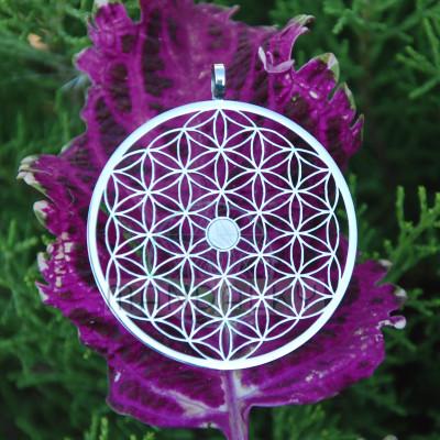 Přívěsek Květ života s neodymovým magnetem