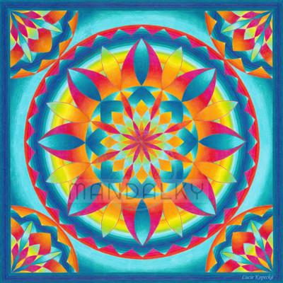 Mandala Indiánské léto