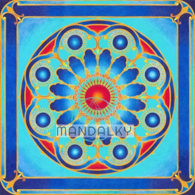 Mandala Okno do nebe