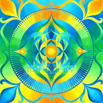 Mandala Bohyně Taygete