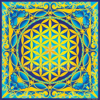 Mandala Květ života
