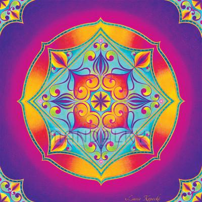 Mandala Duchovní srdce II