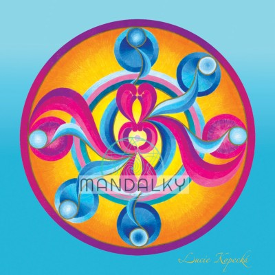 Mandala Archanděl Chamuel