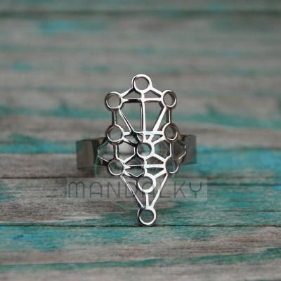 Prsten Sefirotický strom života