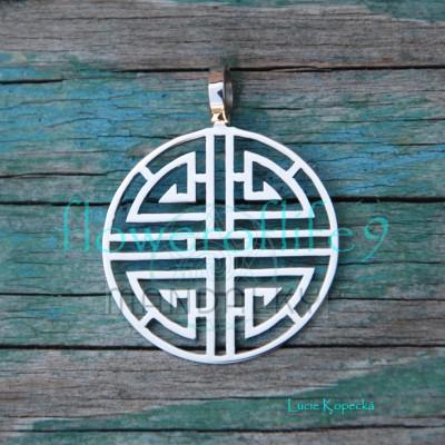 Přívěsek Lu - čínský symbol bohatství