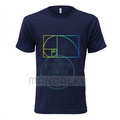 Pánské tričko se Zlatým řezem