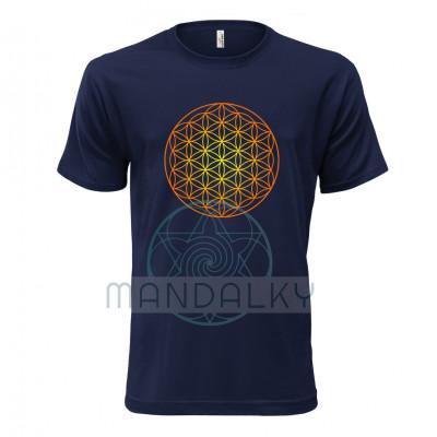 Pánské tričko s Květem života