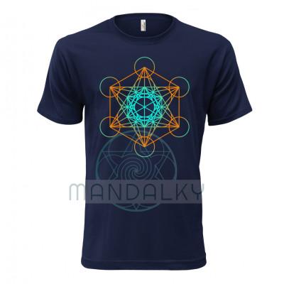 Pánské tričko s Metatronovou kostkou