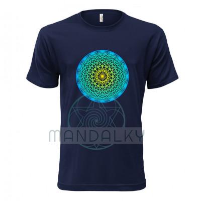 Pánské tričko s Dodekahedronem