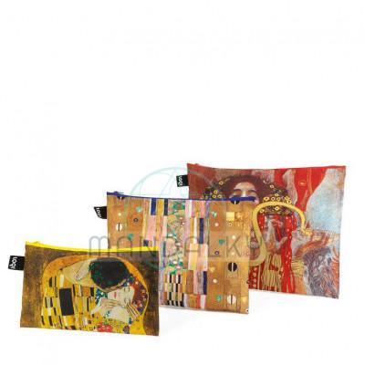 LOQI MUSEUM - Gustav Klimt - Polibek, Rytíř, Hygieia