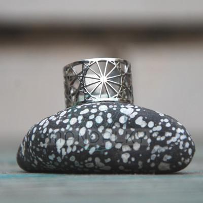 Moderní prsten Dodekahedron