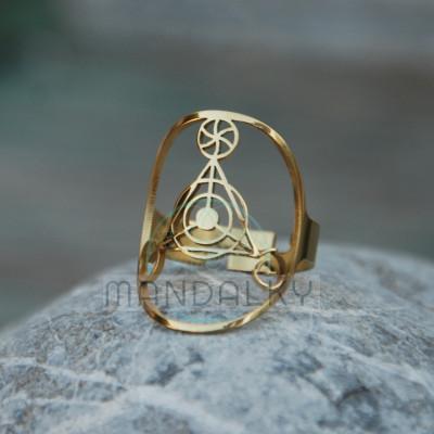 Prsten Elementy - TiN
