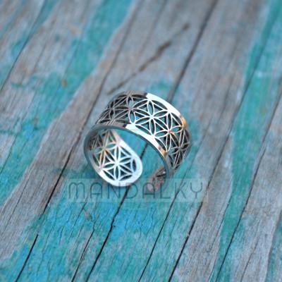 Prsten Květ života V