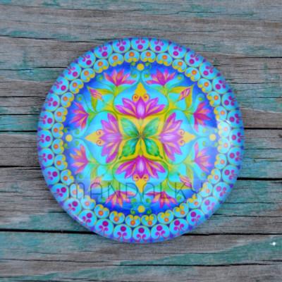 Mandala Shalimar - kulatá