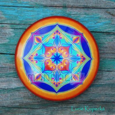 Mandala Duchovní srdce - kulatá