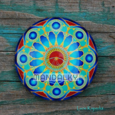 Mandala Okno do nebe - kulatá