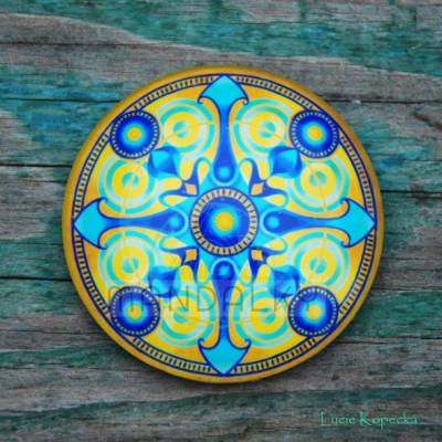 Mandala Síla - kulatá