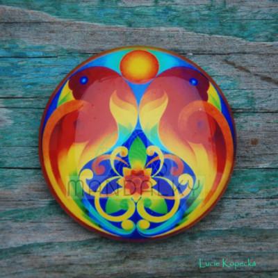 Mandala Tvořivost - kulatá