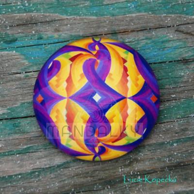 Mandala Zrození - kulatá