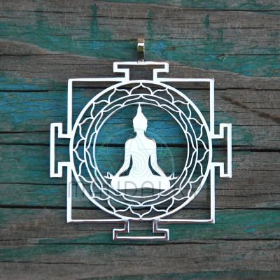 Přívěsek Budha jantra II