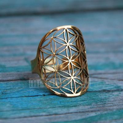 Prsten Květ života II - TiN