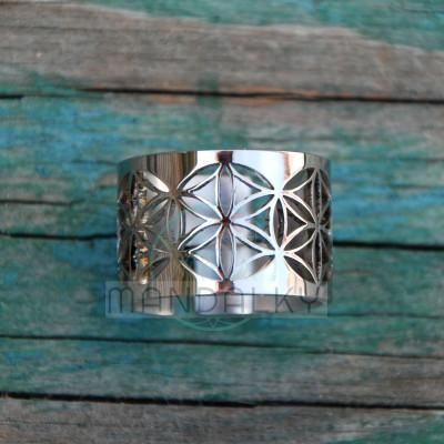 Moderní prsten Semeno života IV