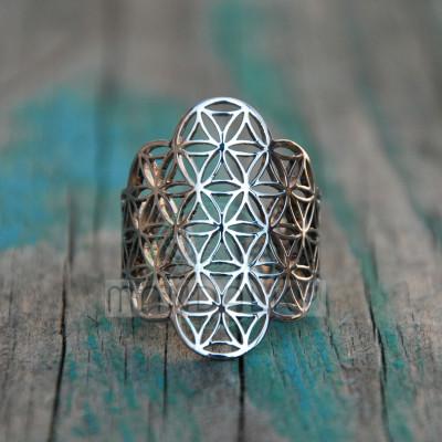 Prsten Květ života IV