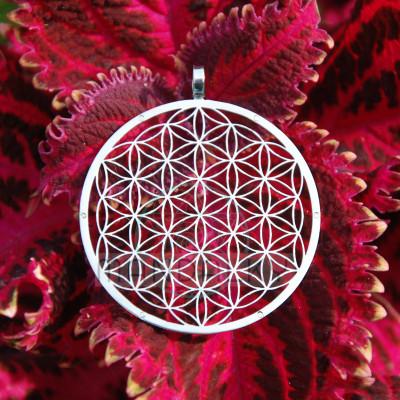 Přívěsek Květ života s 6ti neodymovými magnety