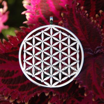 Přívěsek Květ života s neodymovými magnety