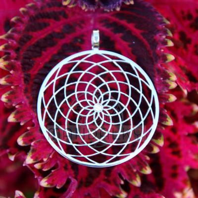 Přívěsek Sluneční květ s neodymovým magnetem