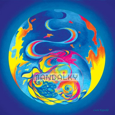 Mandala Anděl Země