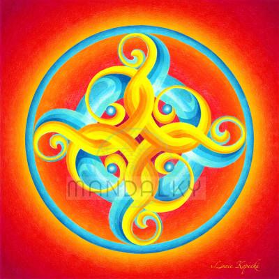 Mandala Tvořivá síla