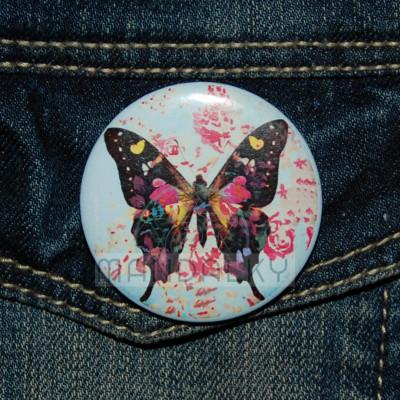 Placka mandala Motýl transformace