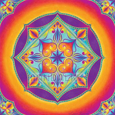 Mandala Duchovní srdce