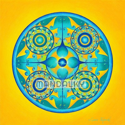Mandala Archanděl Michael