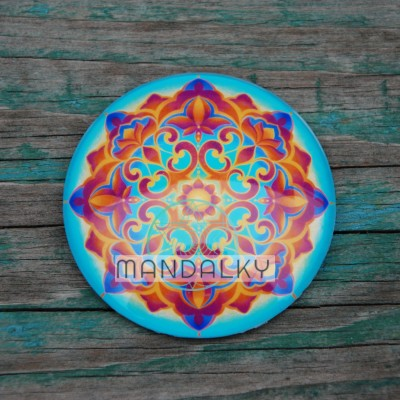 Mandala Zahrada světla - kulatá