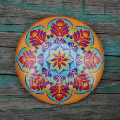 Mandala Pouštní růže - kulatá