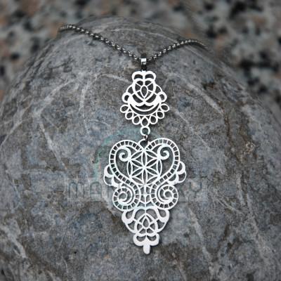 Přívěsek Semeno života - ornamentální