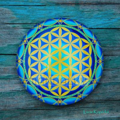 Mandala Květ života - kulatá