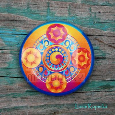 Mandala Tajemství Šambaly - kulatá